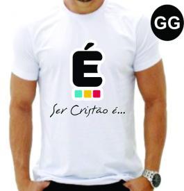 CAMISETA -  GG Medida:  A4  - Estampa  4x0  Camiseta Poliester