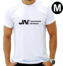 CAMISETA -  M Medida:  A4  - Estampa   4x0  Camiseta Poliester