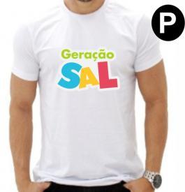 CAMISETA -  P Medida:  A4  - Estampa  4x0  Camiseta Poliester