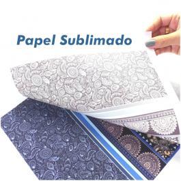 Folha Papel Impresso Sublimático Sublimatico 100x100 cm 4x0 Impressão Frente Sem acabamento