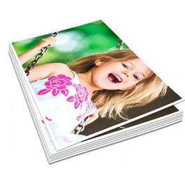 Papel Impresso Sublimatico - A4 Sublimatico A4 4x0 Impressão Frente Sem acabamento