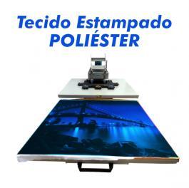 Tecido Poliéster  Sublimado  100x80 cm 4x0  Sem acabamento