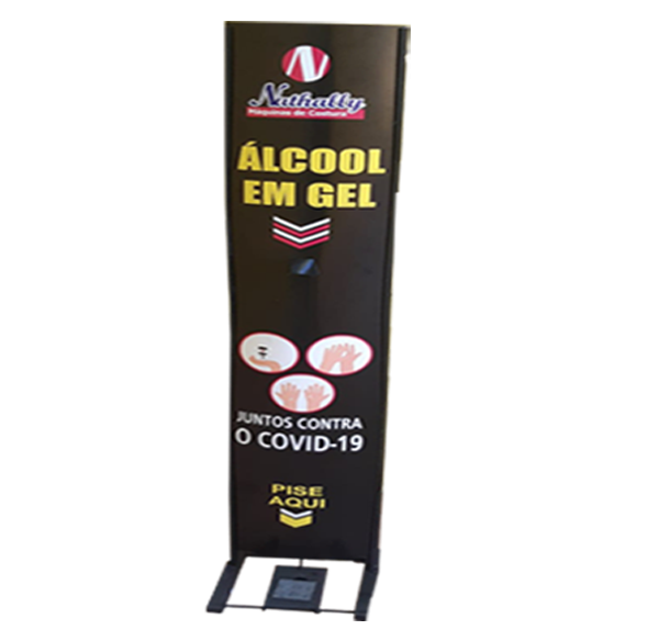 Totem Álcool em Gel - Personalizado